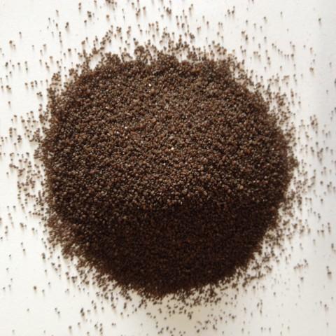 Sable coloré marron chocolat