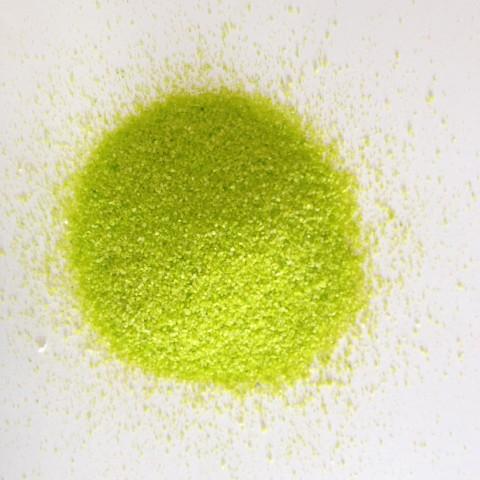 Sable coloré vert pomme
