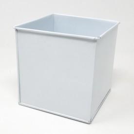 Carré zinc blanc 8cm x 8cm x 8cm