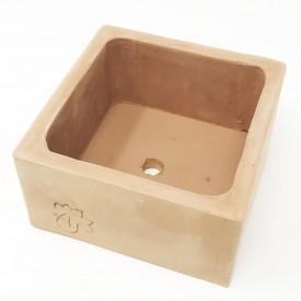 Coupe terre cuite - 10x10x5,5cm