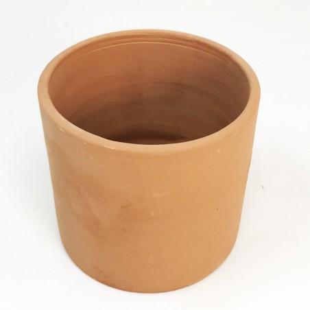 Pot rond terre cuite - diam.9 cm