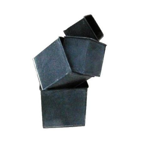 Carré zinc noir