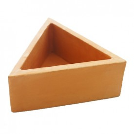 Petit triangle terre cuite