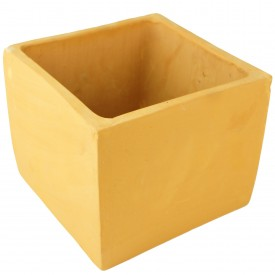 Cube terre cuite - 13,5x13,5x12
