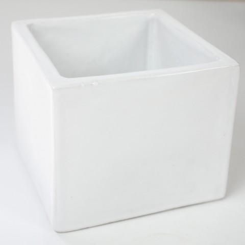 Petit carrés terre cuite émaillée (8x8x7)