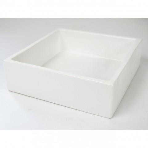 Petite coupe carré émaillée (15x15x6)